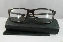 Prada Women's Burgundy Glasses and case VPR 06S USF-1O1 56mm - $170.99
