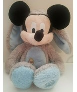 Disney Store Plush Mickey Mouse Easter Bunny Stuffed Animal Exclusive Or... - $24.24