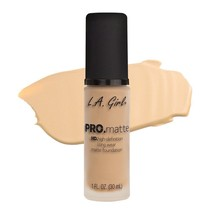 L.A. Girl Pro Matte HD Long Wear Matte Foundation GLM671 Ivory - $9.89