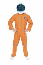 Charades Astronauta Volo Abito Arancione Taglie Forti Adulti Costume Hal... - $52.64