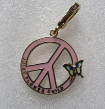 Juicy Couture Charm Flower Child Peace Sign Butterfly NEW - $97.02