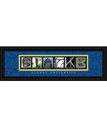 Clarke University Officially Licensed Framed Campus LetterArt  - $39.95