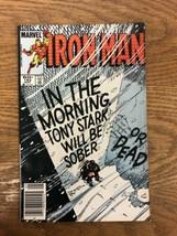 Iron Man Comic Book #182 Marvel Comics 1984 Tony Stark will Be Sober A1 - $9.95