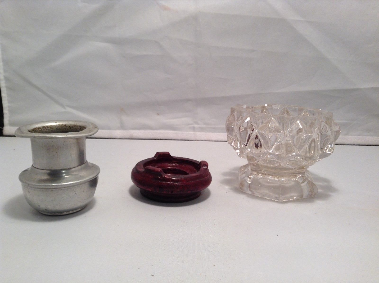 Antique Candle Stick Holder Set of Three