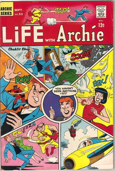 Life With Archie Comic Book #53, Archie 1966 FINE/FINE+