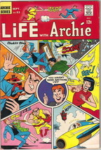 Life With Archie Comic Book #53, Archie 1966 FINE/FINE+ - $26.11