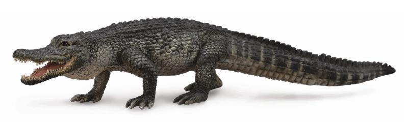 Primary image for <><  Breyer CollectA 88609 American Alligator well made realistic
