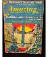 Amazing Stories August 1967 PULP MAGAZINE Jack Vance Neil R. Jones, Jero... - $9.89