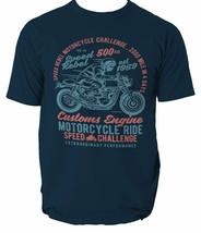 T Shirt Motorcycle Ride Biker Mens Custom Rider Speed Top Legendary Born... - $12.00+