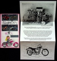 2006 Motorcycle FDC Signed Limited Edition Sturgis Ms Piggy Pugh Design - $7.55