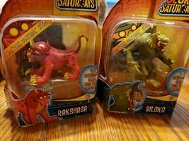 New Mattel Cartoon Network Lot 2 Action Figures Secret Saturdays Biloko ... - $5.94