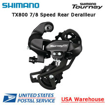 Shimano Tourney RD-TX800 7/8 Speed Direct Mount Rear Derailleur Long Cage MTB - $20.99