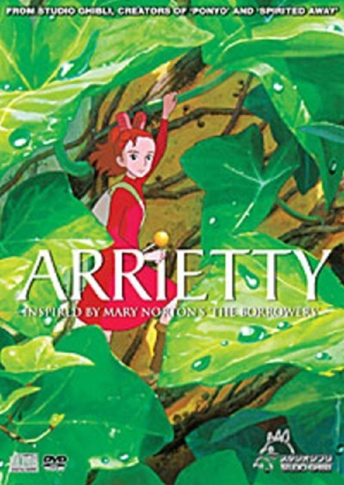 The Borrower Arrietty DVD Marry Norton Studio Ghibli Movie English Subtitle New