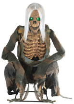 Lifesize Animated CROUCHING BONES Halloween Decoration Prop SEE VIDEO - €165,13 EUR