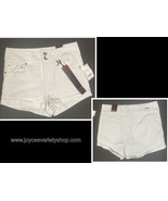 Dollhouse White Shorts High Waisted Sz 7 Stretch - $12.99