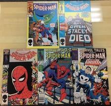MARVEL TALES SPIDER-MAN lot (5) #189 #192 #193 #210 #211 Marvel Comics V... - $9.89