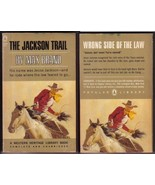 The Jackson Trail Max Brand Frederick Faust PB 1965 Western Heritage sp399 - $7.91