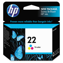 HP 22, Tri-color Original Ink Cartridge (C9352AN) - $34.99