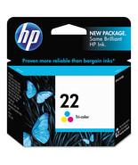 HP 22, Tri-color Original Ink Cartridge (C9352AN) - $33.99