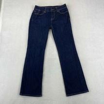Talbots Signature Boot Jeans Women's 2P/26 Blue Low Rise Rinse Wash Cott... - $18.95