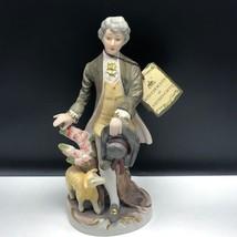 ARNART ROYAL CROWN porcelain victorian figurine art sculpture lamb tag s... - $123.75