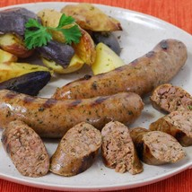 Duck and Bacon Sausage with Jalapeno Pepper - 10 x 1 pack of 4 - 16 oz - $187.74