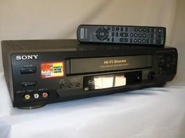 Sony SLV-N60 4-Head Hi-Fi VCR - $82.32