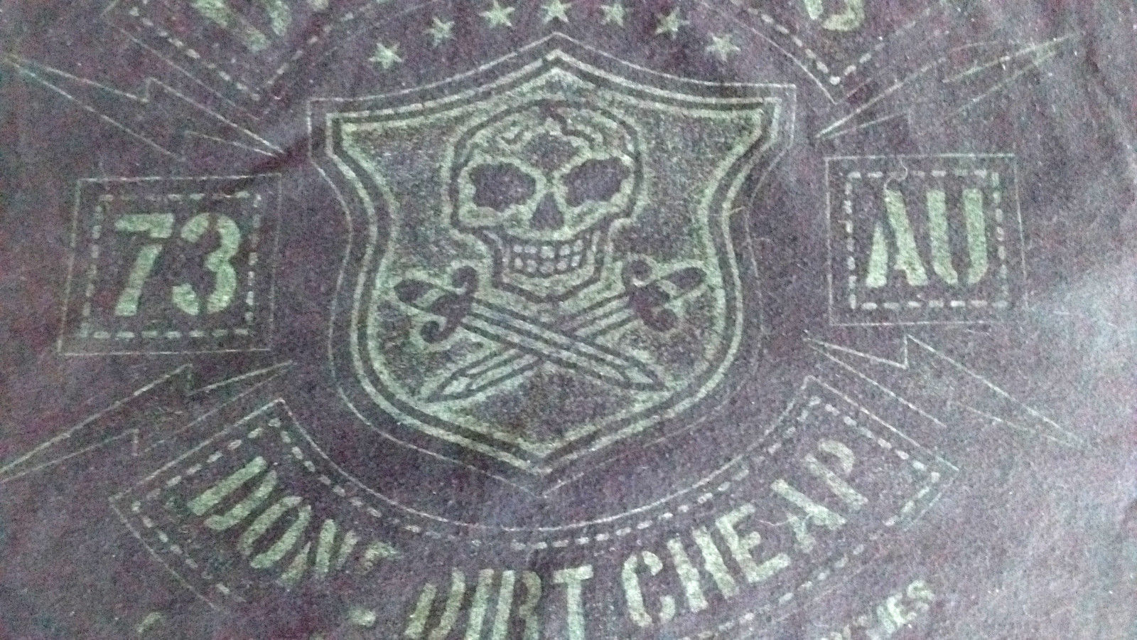 AC-DC Dirty Deeds 73 AU Large T-Shirt Black