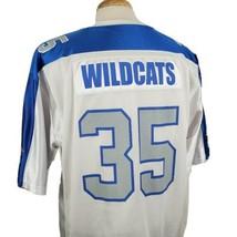 Kentucky Wildcats Team Starter Football Fan Jersey Large #35 Mesh Shiny ... - $21.99
