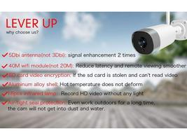 Mibao Outdoor Security Camera Compatible with iOS/Android #P450 image 4