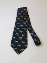 Mark, Fore & Strike African Wildlife Alynn Neckwear Mens Silk Tie Neck T... - $26.71