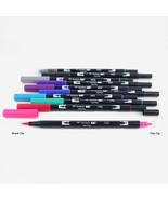 Tombow ABT Dual Brush Pens (Brush Tip + 0.8mm Fine Tip) 10-Color Set, Ga... - $33.99