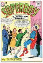 Superboy #104 1963--ORIGIN PHANTOM ZONE- DC Silver Age - $37.83