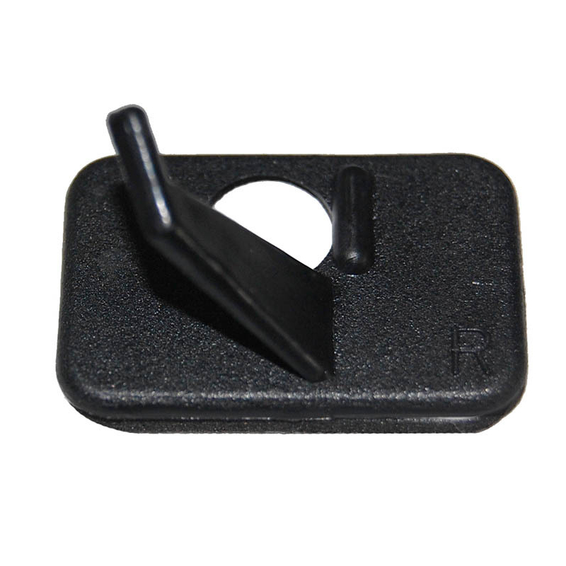 Black Plastic Adhesive Archery Shoot Around Arrow Rest For Right-Handed Compound