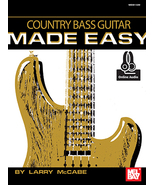 Country Bass Guitar Made Easy by Larry McCabe - $16.99