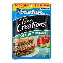 StarKist Tuna Creations, Deli Style Tuna Salad, 3 oz Pouch Packaging May Vary