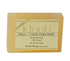 Khadi Abeers Pure Essence Aloe Soap With Essential Oils - $9.79