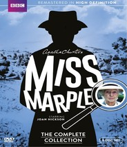 Miss marple the complete collection 1 3  dvd 2015 9 disc  free shipping new wide thumb200