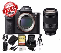 Sony Alpha A7R II 4K Wi-Fi Digital Camera Body w/ 24-240mm lens + 32GB C... - $3,168.35