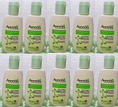 10 x Aveeno Positively Radiant Exfoliating Body Wash 1 Fl. Oz - $9.89