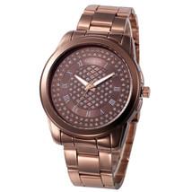 Geneva Watch Women dress watch Laides quartz wristwatches Stainless Stee... - $13.58