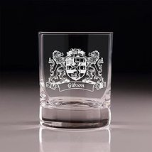 Gibson Irish Coat of Arms Old Fashioned Tumblers - Set of 4 - $66.64