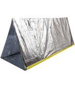 Outdoor Emergency Survival Reflective Shelter Cover Thermal Rescue Campi... - $9.99
