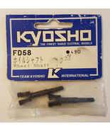 KYOSHO Wheel Shaft FD58 450 NEW RC Part Vintage Nitro Thrasher Porsche - $8.99