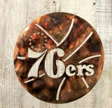 Philadelphia  76'ers  Metal Wall Art - $32.66
