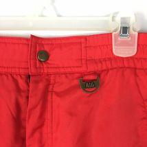 Nils Women's Red Vintage Snowsuit Ski Snow Board Pants Size 16 image 4
