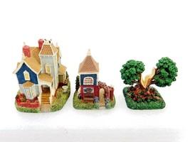 Liberty Falls Village, 1999 Ornithologist's House, Dove Cote & The Oldes... - $17.59