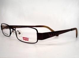Levis Eyeglasses 566 Brown 1  Boys new Frames Stainless Steel Metal - $29.69