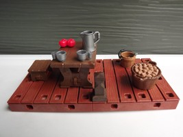 Playmobil 4899 Pirate Bay Table and Dock - $13.09
