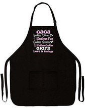 ThisWear Gigi's Love is Endless Funny Apron for Kitchen BBQ Barbecue Coo... - $24.09